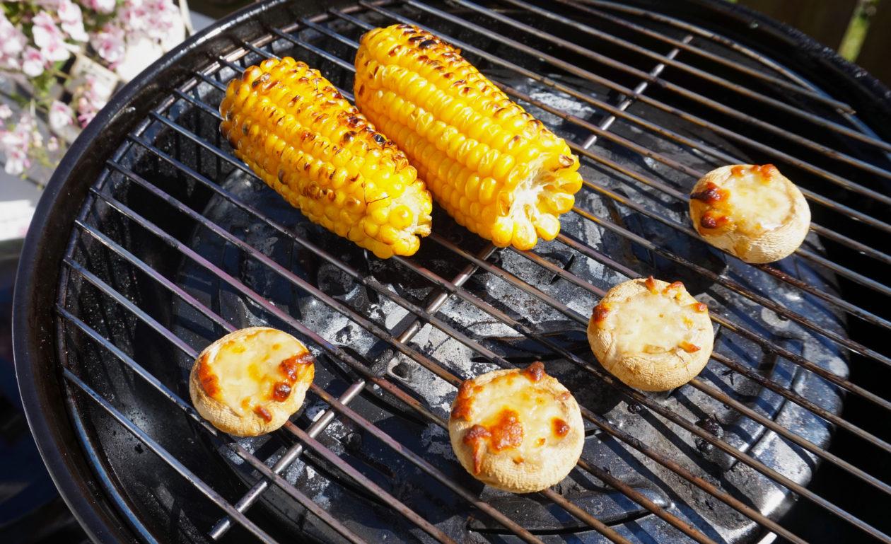 Sommermad på grillen